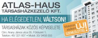 Közös képviselet, Társasházkezelés - Atlas-Haus Társasházkezelő Kft.