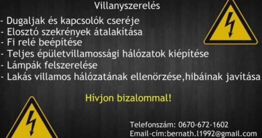 Elektromos hálózat kiépítése Miskolc