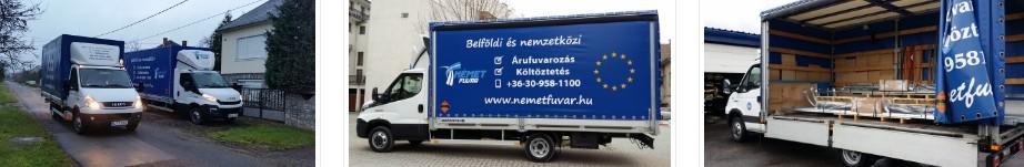 Költöztetés, Fuvarozás, Tehertaxi Miskolc